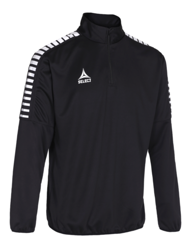 Argentina Training Sweat 1/2_Zip - czarny