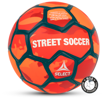 Street Soccer Orange fotboll