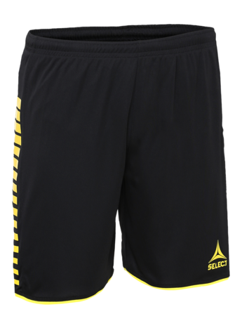 Argentina player shorts - Noir/jaune