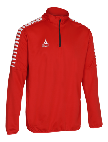 Argentina Training Sweat 1/2_Zip - Rouge