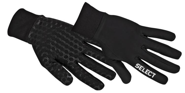 SELECT Player Gloves II - Black