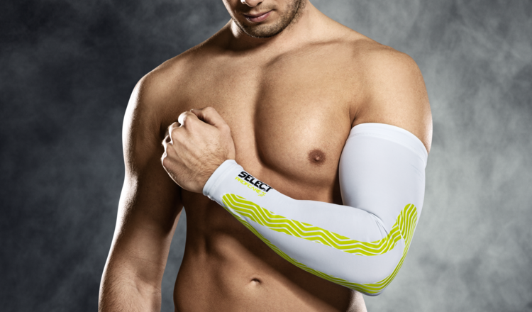 6610 Compression Arm Sleeve - White