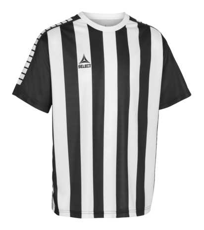 Player Shirt S/S Argentina Striped - Black/White
