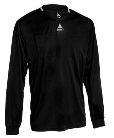 Referee shirt L/S v21 - black/black