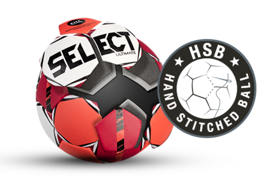 Hand-stiched handball from SELECT