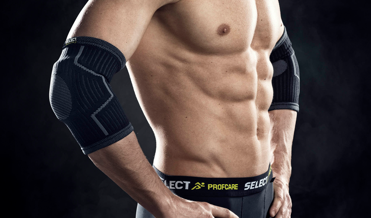 Elastic Elbow Support with pads