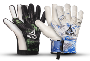 Goalkeeper gloves from SELECT