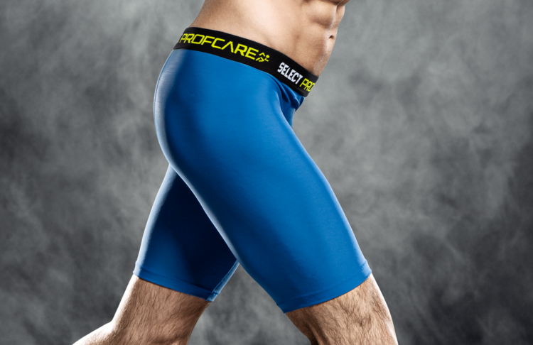 6402 Compression Shorts - Blue